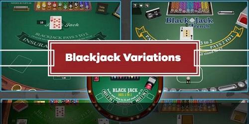 Variations of Online Blackjack