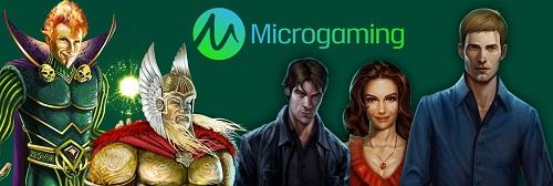 Popular Microgaming Slots