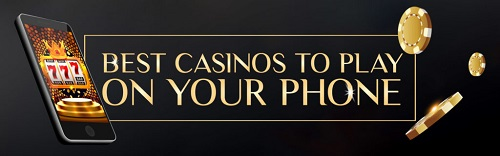 Our Top 5 Mobile Casinos