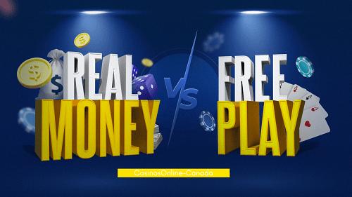 Real Money vs. Free Casino Games