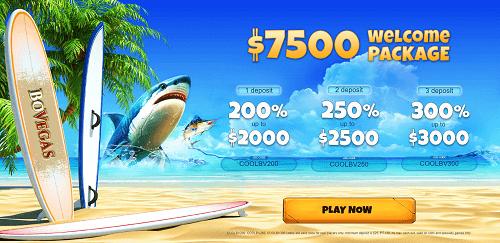 Bovegas Casino Bonuses