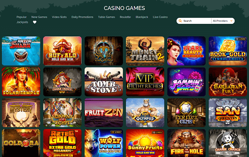 MonteCryptos Best Casino Games and Software Providers