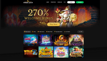 Special offer at Cherry Gold Casino
