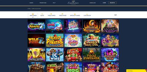 Best Casino Games at Exclusive Casino