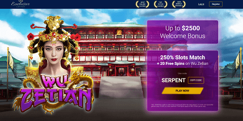 Bonuses and Promotions at Exclusive Casino