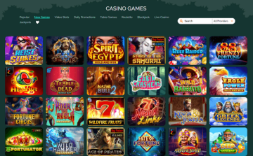 2500 casino games available