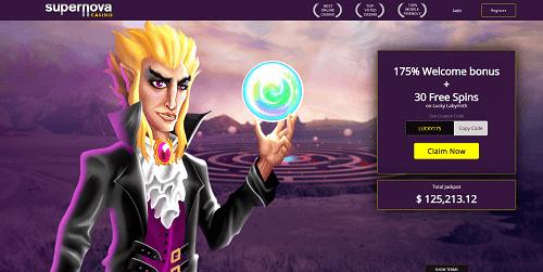 Supernova Casino Bonuses and Promotions