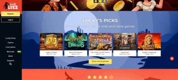 Top Casino Games at Lucky Luke