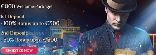 VegasPlus Welcome Package